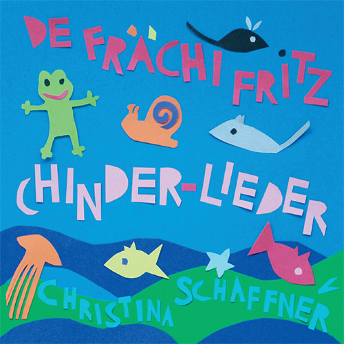 Christina Schaffner, Chinder-Lieder, CD Cover