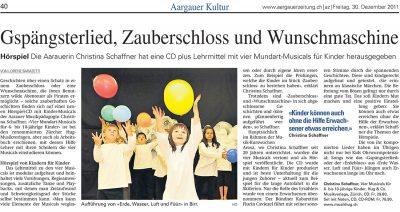 Christina Schaffner, Chinder-Lieder, Medien