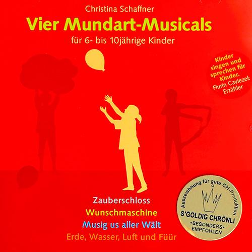 Christina Schaffner, Chinder-Lieder, CD