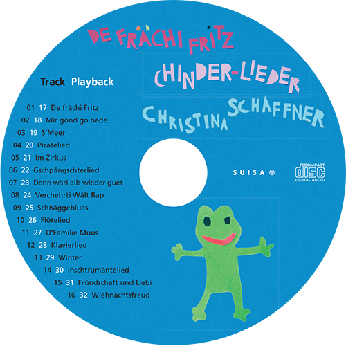 Christina Schaffner, Chinder-Lieder, CD Disk