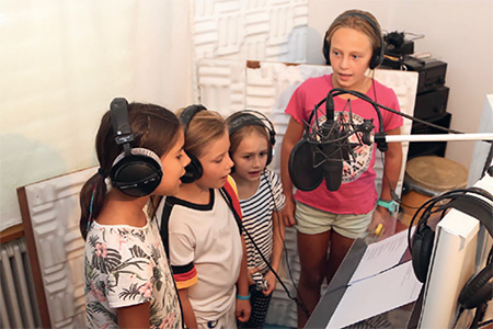 Christina Schaffner, Chinder-Lieder, Produktion